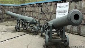 2016-01-27 Kanonen einer alten Festung