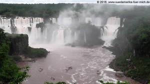 2016-02-02 Wasserfälle Iguassu von Brasilien aus gesehen