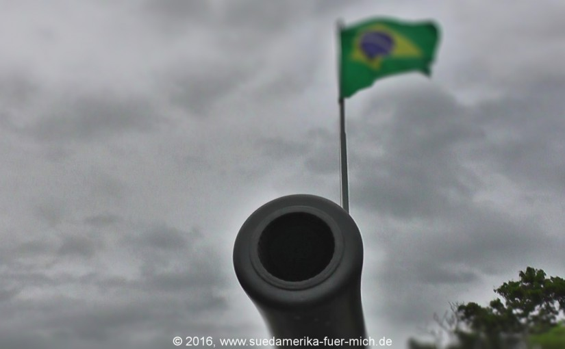 Brasilien 2016 – Tag 6 – Donner und Kanonen