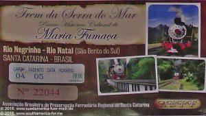 Rio Negrinho - Maria Fumaça (DE 65)