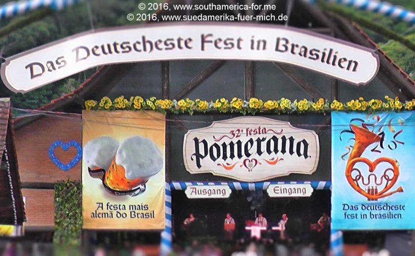 Video zum Geschehen auf dem Festplatz der Pomerana