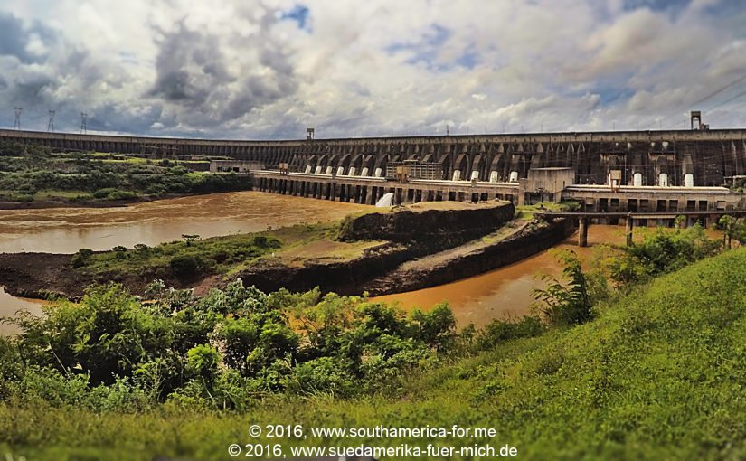 Video: Wasserkraftwerk Itaipú