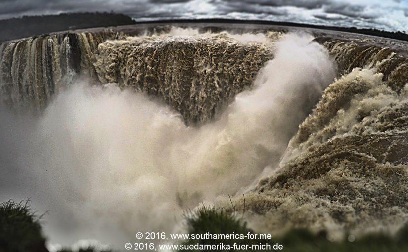 Brasilien 2016 – Tag 14 – Paddelnd am Teufelsschlund