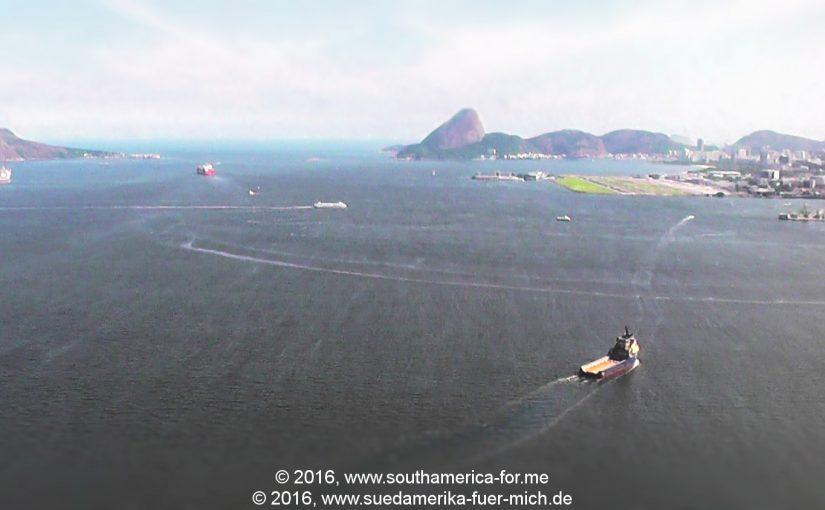 """Video: Anflug auf den Stadtflughafen von Rio de Janeiro """"Santos Dumont"""""""