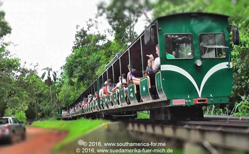 Video: Mit der Schmalspurbahn durch den argentinischen Nationalpark Iguazú