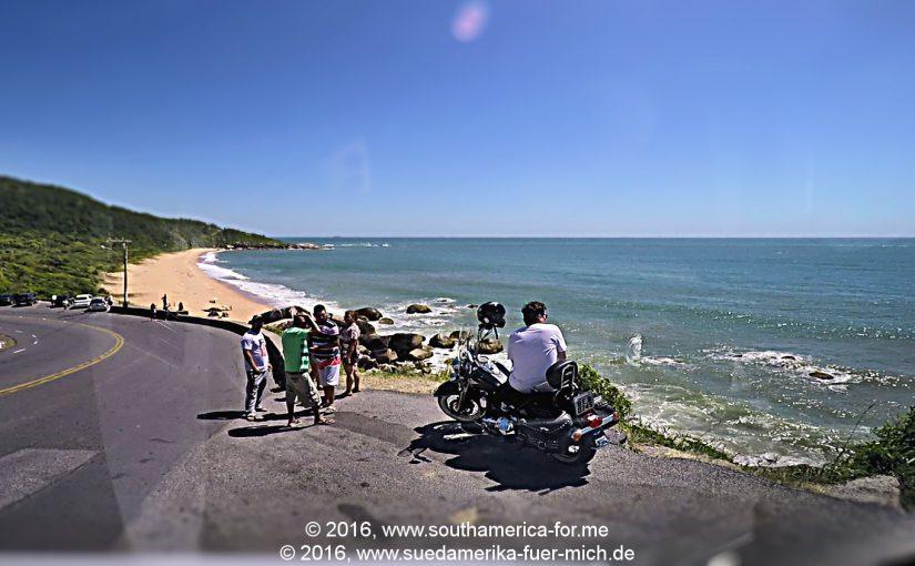 Video: Wir fahren weiter von Itapema nach Balneário Camboriú