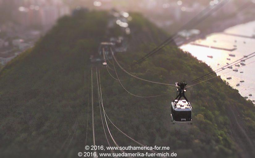 Video: Fahrt mit der Kabinenbahn am Zuckerhut